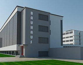 3D model Bauhaus Dessau