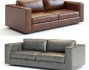 3D model Restoration Hardware - Maddox Leather Sofa