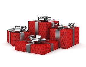 3D Christmas Presents 1