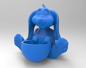 Easter Bunny Egg Holder 3D print model