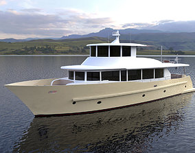Concept Motor Yacht Classical 3D