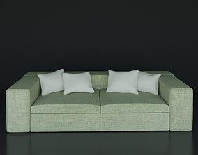 sofa sprinfield 3D model