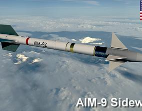 Sidewinder Missile 3D model
