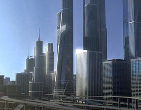 Freeway04 City 3D model