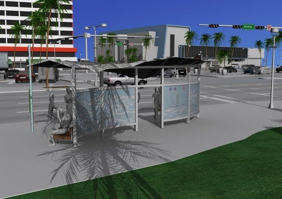 Miami Bus Shelter