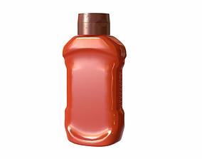 Bottle 3D model PBR