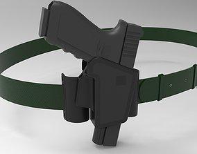 3D Glock Belt and Holster