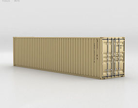 3D Shipping Container 40 HC