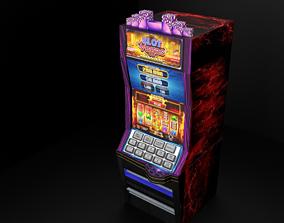 3D asset Modern Casino Slot Machine
