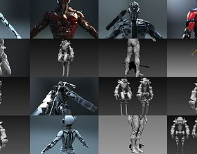 3D Sci-Fi Characters Part 3