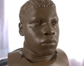 John Boyega printable bust
