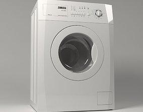 washing machine 3D model rigged