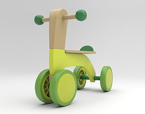 Tricycle for Kids 3D model