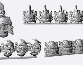 printable space warriors ancient chinese set