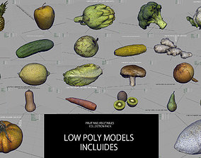 3D model FRUIT AND VEGETABLES COLLECTION PACK