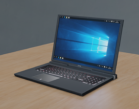 3D asset Notebook Dell G5 15 gaming
