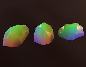 Gemstone V2 3D model VR / AR ready