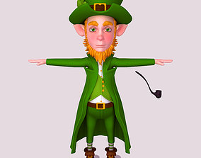 Leprechaun character 3D model