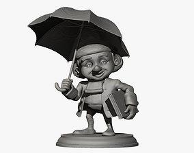 Ole Lukoje Statuette 3D print model