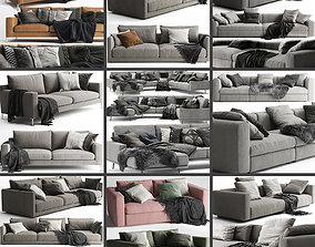 Sofa Collection 03 - 10 Items 3D