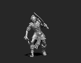 Egyptian Assassin - Nebka 35 mm scale - 3D print model