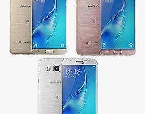 3D model Samsung Galaxy J5 2016 all color