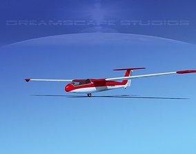 Letov Superblanik 3D model rigged