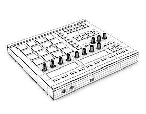 Pad Controller 1 3D model
