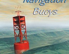 Navigation Buoys for Poser 3D model