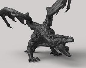 statue The Dragon 3D printable model