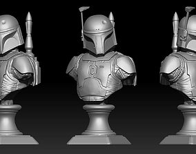 3D print model Boba Fett Bust Fan Art