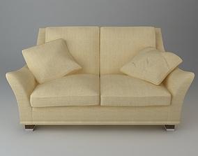 2 Seater Sofa 3D