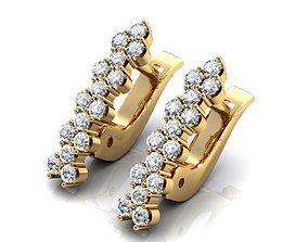 Earrings 3D prototyping 3d jewelry