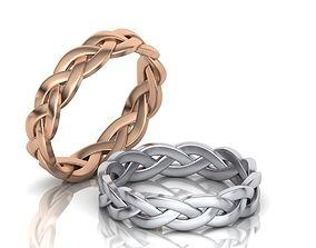 3D print model Braided Ring
