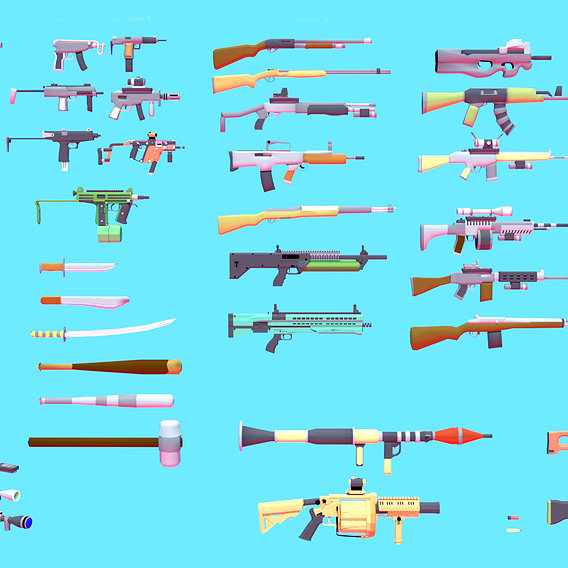 Weapons Asset Pack