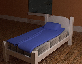 3D Simple Bed