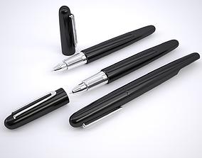 3D asset Montblanc M Pen