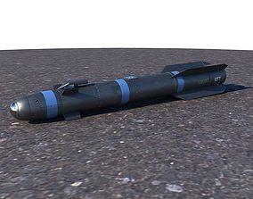 3D AGM-114 Hellfire II Missile