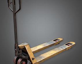 Handheld Forklift Construction 3D asset