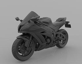 Kawasaki Ninja ZX-10R 1000 for 3D Print
