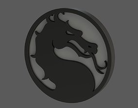 3D print model Mortal Kombat Logo