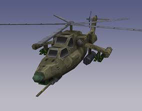 3D asset realtime Mil Mi-28 Havoc