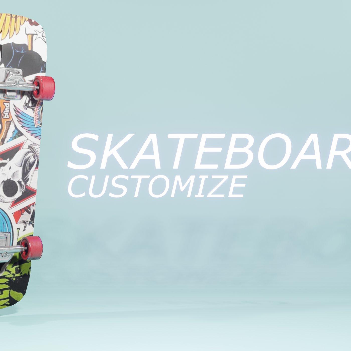 customizable skateboard
