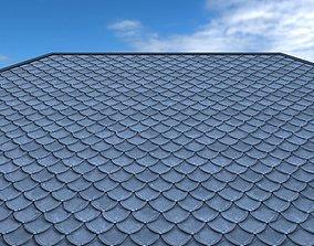 Roof shingle 3D