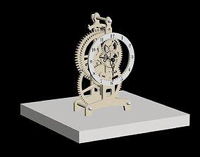 3D model Mechanical Clock
