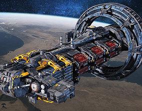 SciFi Hauler 3D