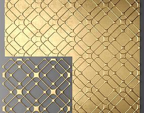 Panel lattice grille 3D