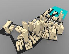 3D Boston Cityscape