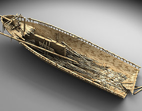 wood 3D Wooden shipwreck 2
