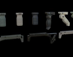 3D asset Foregrips